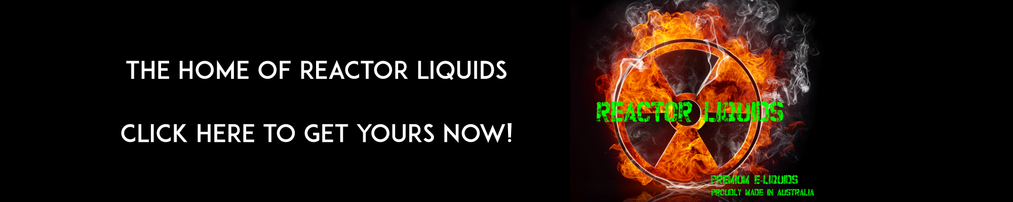 Reactor Liquids Advertisement